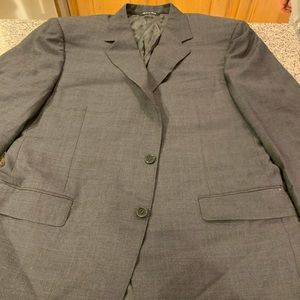 Mens sportcoat charcoal grey -Canali- 44S